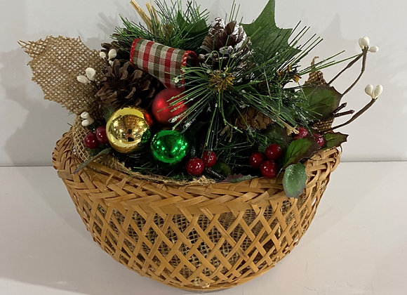 SMALL BASKET FLORAL