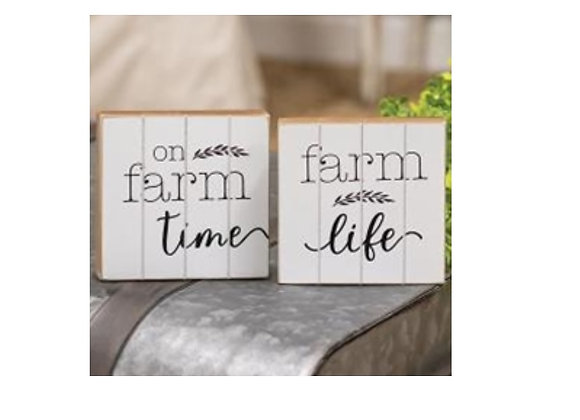 FARM LIFE  BLOCK SET