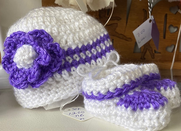 NEWBORN CROCHET SET