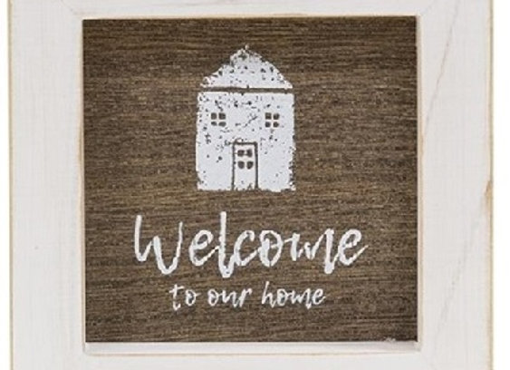 WELCOME~HOME~FAMILY BLOCK SIGNS