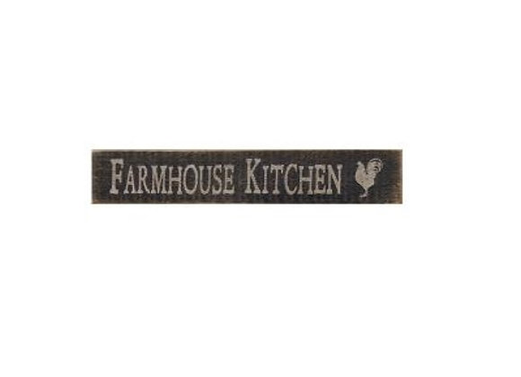 DISTRESSED FARMHOUSE KITCHEN SIGN