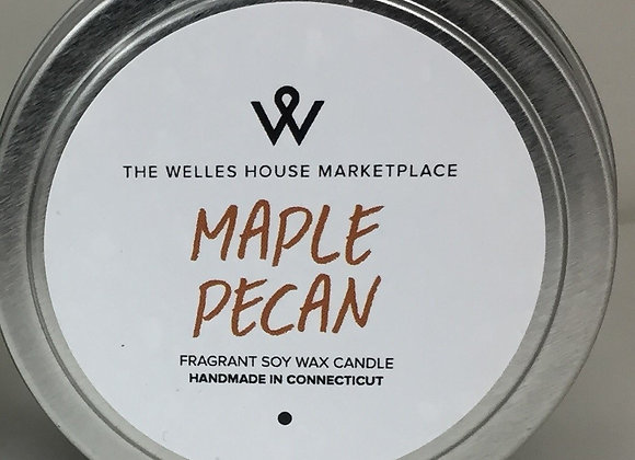 MAPLE PECAN CANDLE TIN