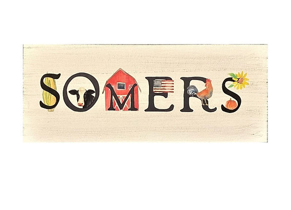 SOMERS GRAPHIC SIGN