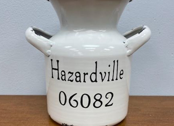 HAZARDVILLE SHORT ENAMEL MILK CAN