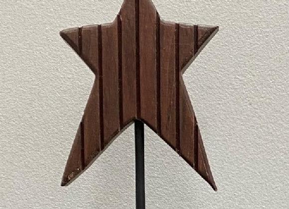 PRIMITIVE STAR FIGURINE
