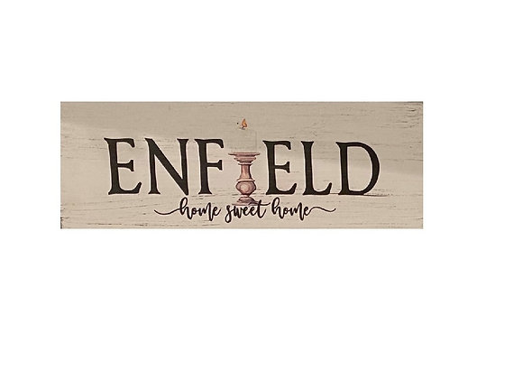 ENFIELD CANDLE SCONCE SIGN