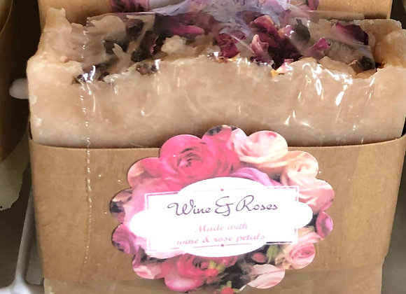 WINE & ROSES SOAP BAR