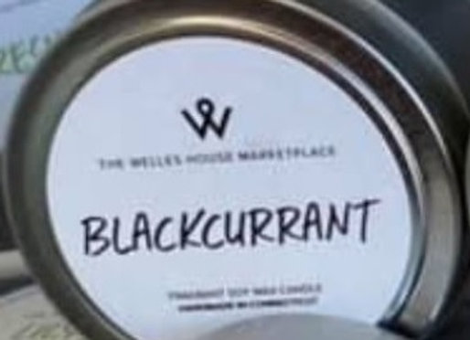 BLACKCURRANT CANDLE TIN