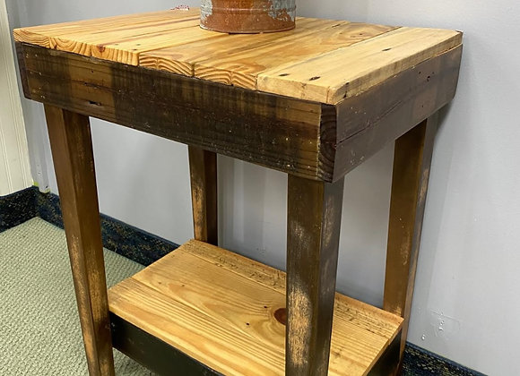 CUSTOM WOOD ACCENT TABLE