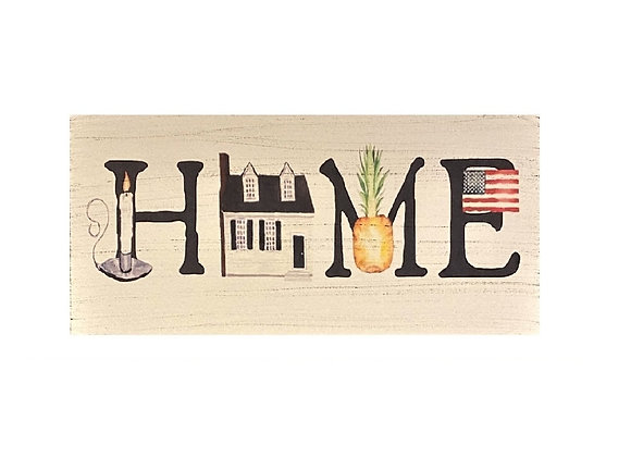 HOME GRAPHIC SIGN