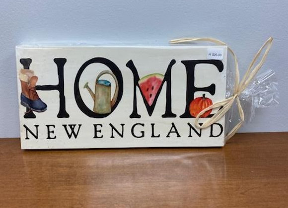 NEW ENGLAND HOME SIGN