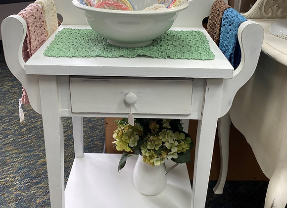 VINTAGE STYLE BASIN STAND TABLE