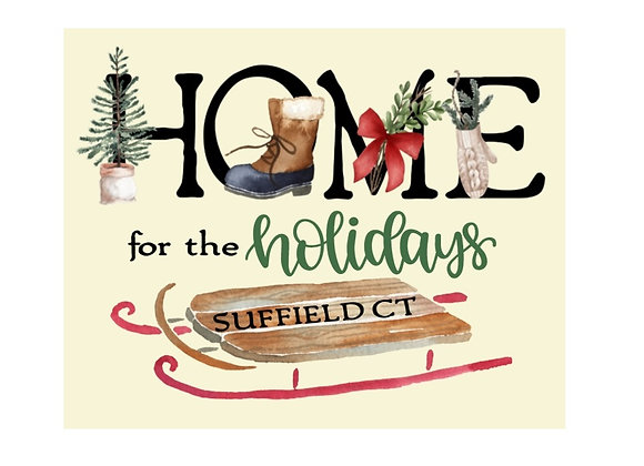 SUFFIELD HOLIDAY ART