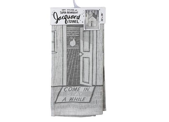 JACQUARD DISH TOWEL