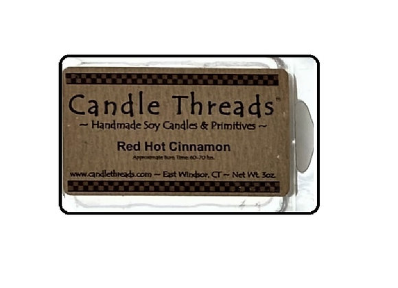 RED HOT CINNAMON SOY WAX MELT