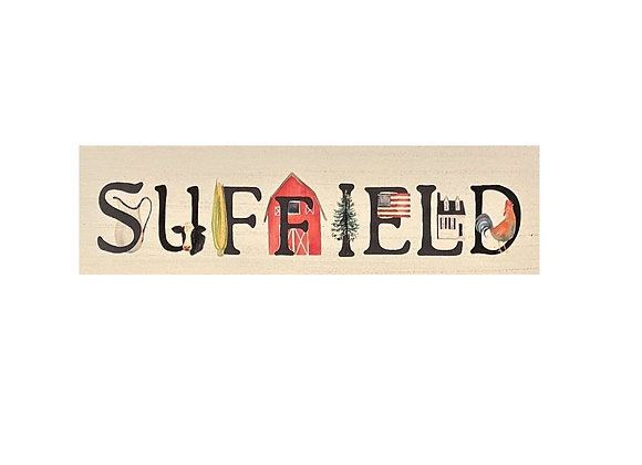 SUFFIELD GRAPHIC SIGN