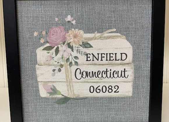 ENFIELD BOOK CANVAS ART