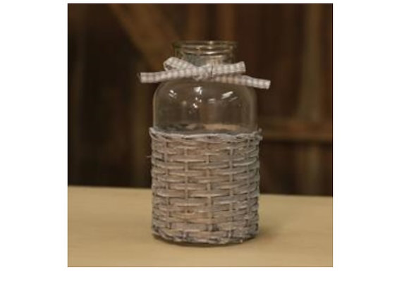 WILLOW BASKET SMALL BOTTLE