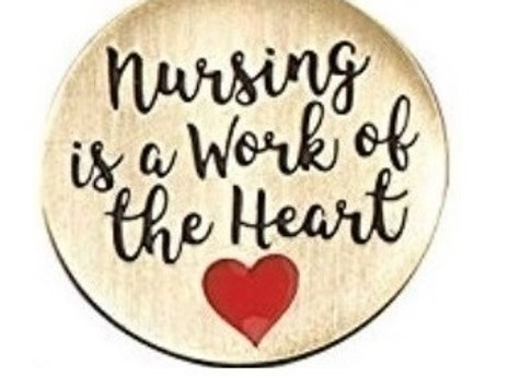 NURSE HEART PIN