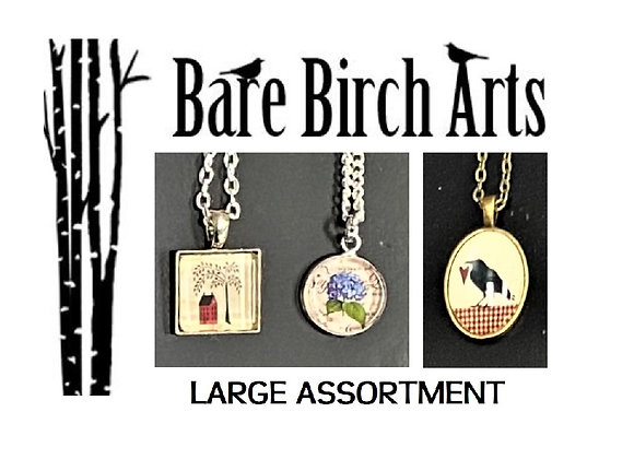 BIRCH CRAFT NECKLACES ~ 22 STYLES