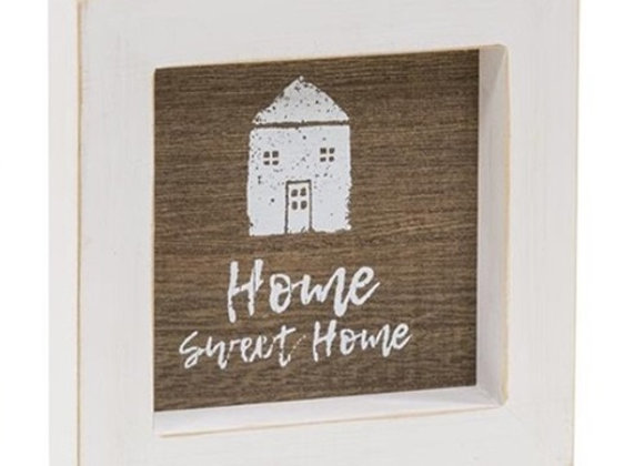 HOME WOOD SIGN