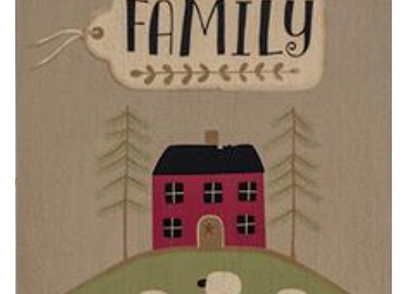 FAMILY SCENE SIGN