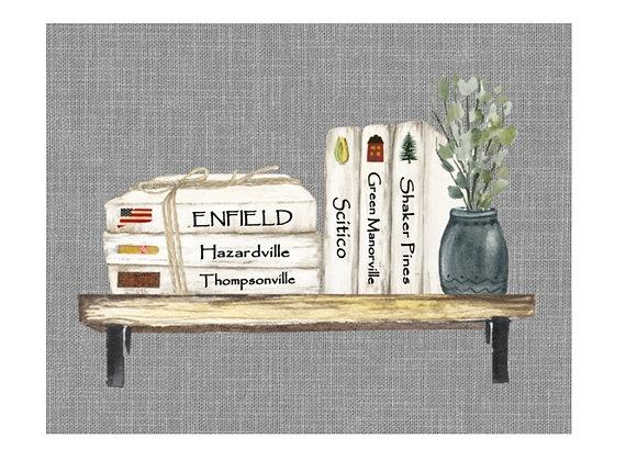 ENFIELD DISTRICT BOOK ART