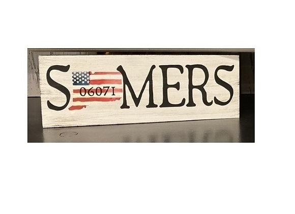 SOMERS FLAG SIGN