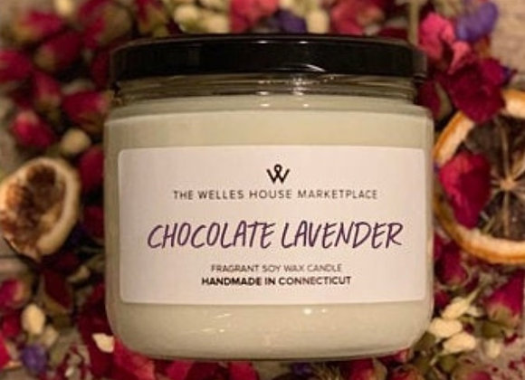CHOCOLATE LAVENDER CANDLE