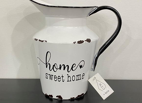 HOME SWEET HOME PITCHER