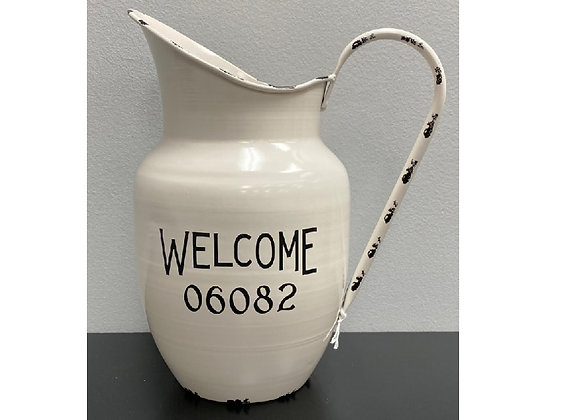 WELCOME 06082 PITCHER