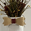 Thumbnail: CRACKLE MASON JAR BURLAP FLORAL