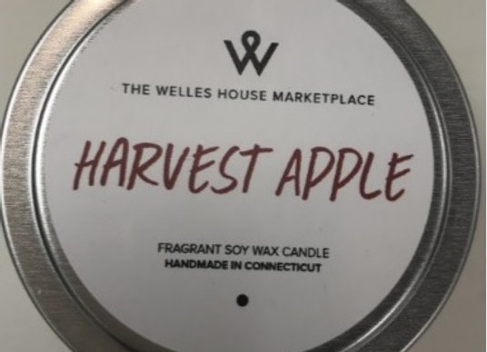 HARVEST APPLE CANDLE TIN