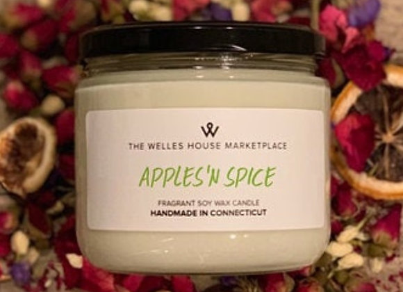 APPLES N' SPICE CANDLE