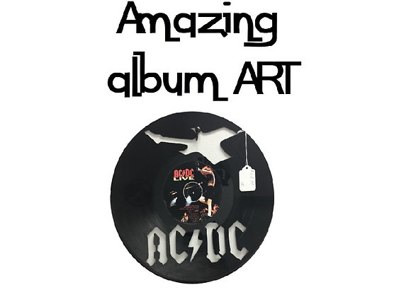 SKILLFULLY CUT ALBUM WALL DECOR