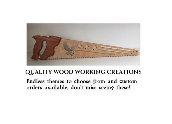 WOOD CARVED SAW