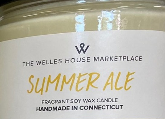 SUMMER ALE SCENT JAR CANDLE