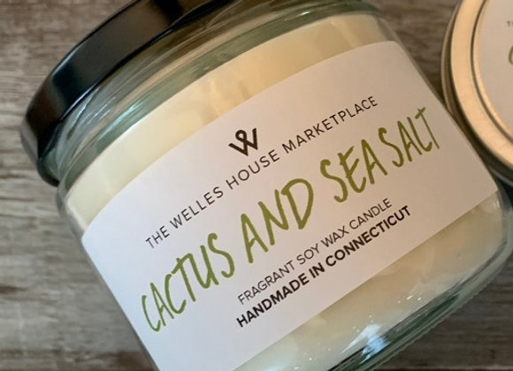 CACTUS & SEA SALT JAR CANDLE
