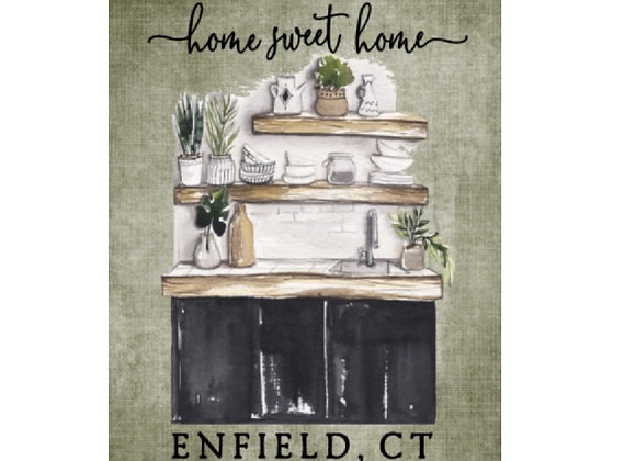 ENFIELD COUNTRY HOME ART