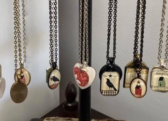 BAREBIRCH ART NECKLACES