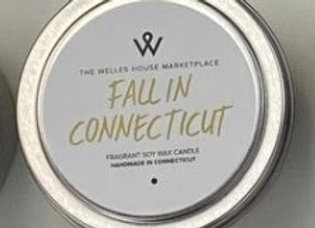FALL IN CT CANDLE TIN