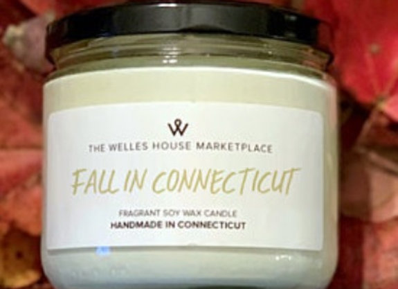 FALL IN CT CANDLE
