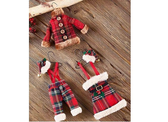 HOLIDAY CLOTHING ORNAMENT SET