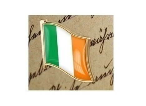 IRISH FLAG PIN