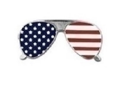 FLAG SUNGLASSES PIN