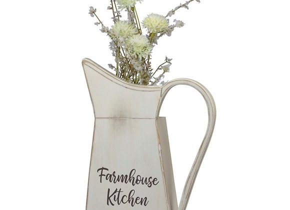 FARMHOUSE KITCHEN WALL PITCHER