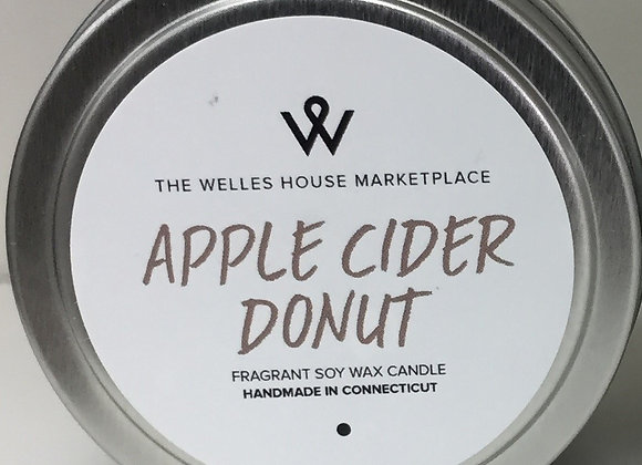 APPLE CIDER DONUT CANDLE TIN