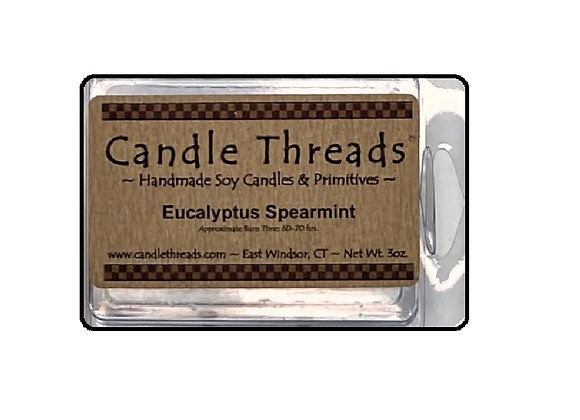 EUCALYPTUS SPEARMINT SOY WAX MELT