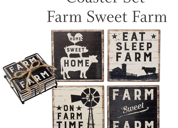 Farm Coaster Set