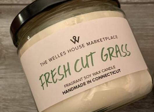 FRESH CUT GRASS JAR CANDLE